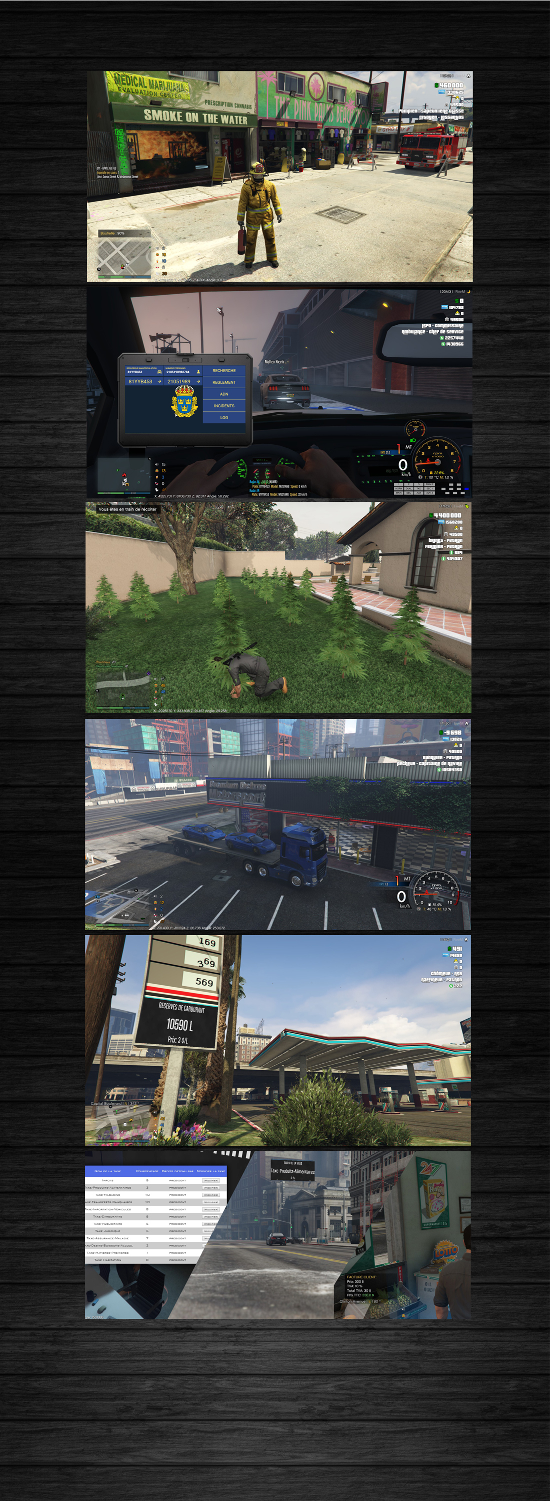 IMMERSION RP - Serveur Grand Theft Auto